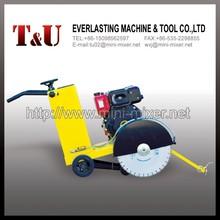 gasoline engine reinforced hydraulic concrete saw cutter