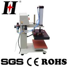automatic pneumatic single station t-shirt printing heat transfer heat press machine