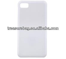 Blank sublimation mobile phone case for blackberry Z10