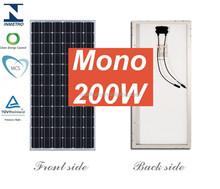 A grade hot selling poly solar panels 200 watt