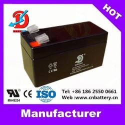 2015 kanglida widely used 12v battery deep cycle lead acid ups battery 12v 1.3ah 2.3ah 3.3ah