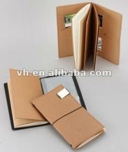 2012 New design washable journey notebook