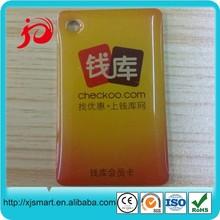 Smart crystal card/rfid key fob epoxy