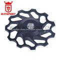 witsport 11 t de aluminio de cerámica mtb desviador trasero polea