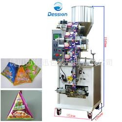 Triangle bag packing machine powder packaging machine triangle triangle bag package liquid packaging machine
