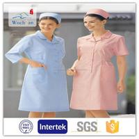 100% cotton nurse uniform fabric