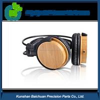 Custom high quality shell or cover of wood headphone, circumaural headphones, DEOS BCS 0530
