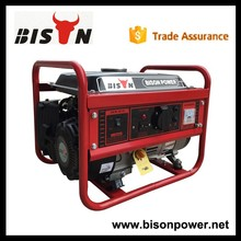 BISON(CHINA) Promotion!1Kw Gasoline Generator With Good Portable Generator Accessories
