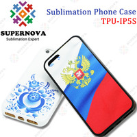 Printable Soft Silicon Case for iPhone5S with Aluminum Sheet