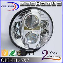 Waterproof high low beam 78w motorcycle 7 inch headlights