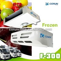 Vehicle-Powered truck cooling system