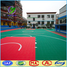 outdoor used basketball flooring