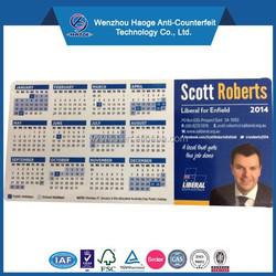 Promotional fridge magnet & paper calendar fridge magnets, decorative refrigerator business card