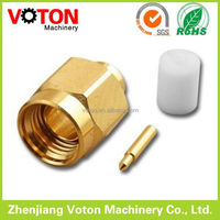 Compression Female 50 Ohm sma type connector connector