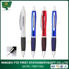 Retractable Metal Led Light Ballpoint Pen