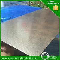 Sand blast 1.4404 stainless steel sheet gold mirror