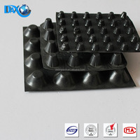 Dimple waterproof drainage board for green roof