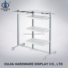 high quality clothes rack furniture/clothes shop shelf/clothing retail store furniture