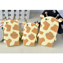 Fashion Animal Shape Rubber silicon cover for mobile