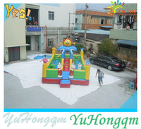 2014 Large Blow Up Inflatable Slides /Bounce House /Inflatable Party Jumpers In Amusement Park Inflatable Toys