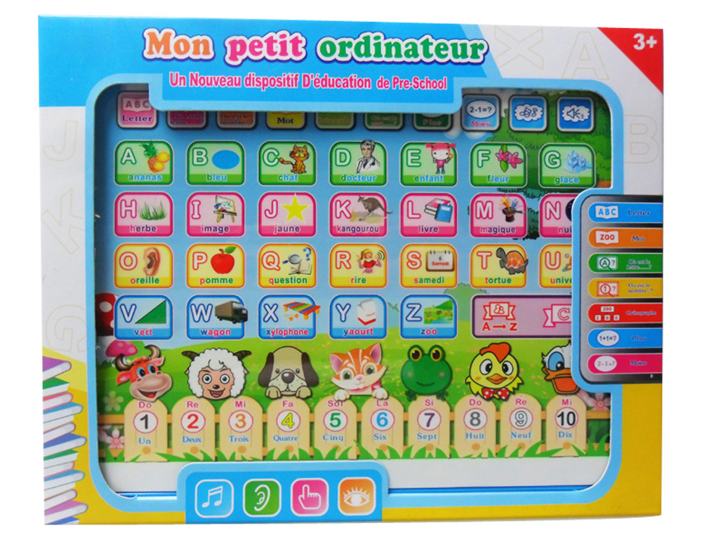 Tablet computer games french language learning  for sale