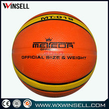 Latest popular heavy duty rubber basketball