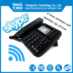 New product IP542N sip desk office phone wifi for skype conference