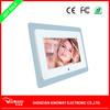 Customize 7'' Acrylic digital picture frame LED light movie player desktop video playback digital photo frame remote control