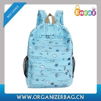 Encai Preppy Style Canvas Sports backpack With Handle Wholesale Outdoor for school teenage girls & boys