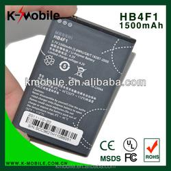 FOR Huawei U8220 U8230 U9120 E5830 M860 Ascend HB4F1 Cellphone Original Battery HB4F1 1500mAh