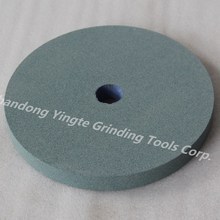 abrasive green silicon carbide grinding wheel
