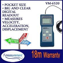 VM6320 Digital vibrometer, portable vibrometer handheld vibration tester