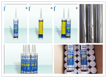 FL 50g/100ml/260/300ml glass and aluminum silicone sealant and glass cement