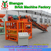 QTJ4-26C China price concrete block making machinery for cement blocks and paving bricks, have office in Afirca