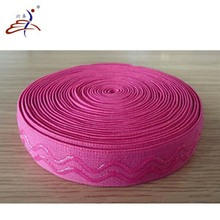 custom silicone printed nylon elastic band
