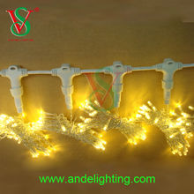 Connectable Christmas Wedding indoor outdoor decoration led curtain lights holiday lighting