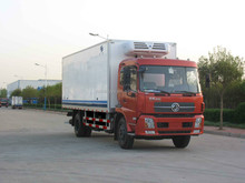 OEM 9-15Tons new Doengfeng frozen & refrigerator truck/refrigerated standby electric unit truck/semi-trailer refrigerator truck
