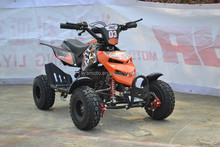 "new design 49CC mini atv/quad bike for kids,HOT!pull start / electric start ,4"" /6"" wheels"