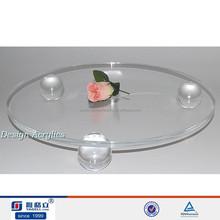 Simples acrílico quadrado do bolo de pilares bolo de festa de casamento separadores stands 30 cm