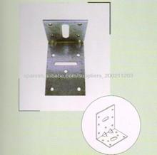 galvanizado de alta calidad y precio competitivo construcción escuadra para la venta