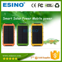 2015 good price rohs ce fcc custom solar panel power bank
