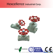 Gate valve 200PSI small with natural Handwheel Gas valves