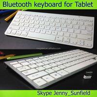 Win7/8 android Ultra-thin aluminum alloy wireless bluetooth keyboard