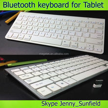 Win7/8 android Ultra-thin aluminum alloy wireless bluetooth keyboard