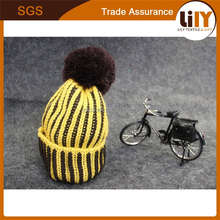 2015 custom yellow hat joker color matching hats fluorescent color wool knitted cap