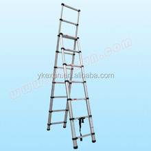 Double-used Telescopic Ladder with EN131