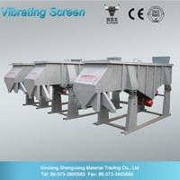 High Screening Efficiency Powder, Granule and Liquid Grading Use Linear Vibrating Screen,Vibrating Screen Separator