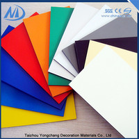 Antistatic pe coated acp lowes cheap wall paneling interior