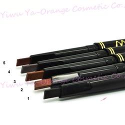 5 Colors Waterproof Automatic Rotation Eyebrow Pencil