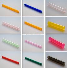Colored Acrylic Tube/plexiglass tube for different decor
